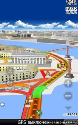Изображение CityGuide7 GPS навигатор на телефон