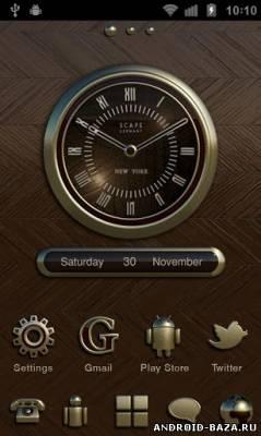 Изображение NEW YORK Theme GO Launcher EX на телефон