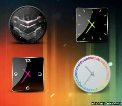 HD Beautiful Clock Widgets Pro на планшет