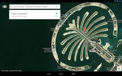 Обновление карт Google Maps на планшет