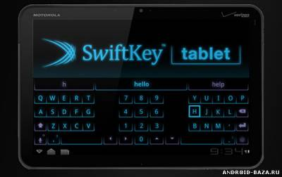 SwiftKey Keyboard на планшет