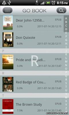 GO Book на планшет