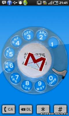 dialR: Rotary Phone Dialer для Android