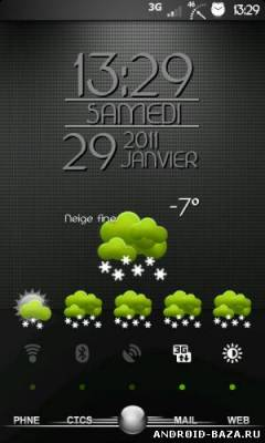 Make Your Clock Widget на телефон