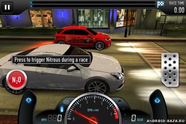 Скриншот CSR Racing на планшет