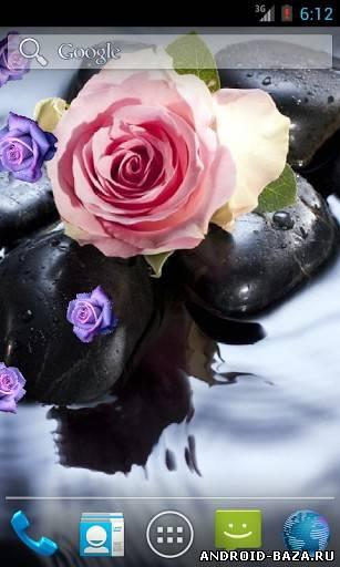 Роза на воде. Скриншот 2