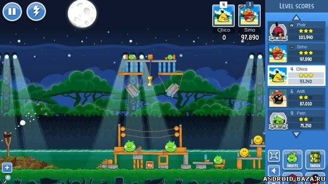 Картинка Angry Birds Friends на телефон