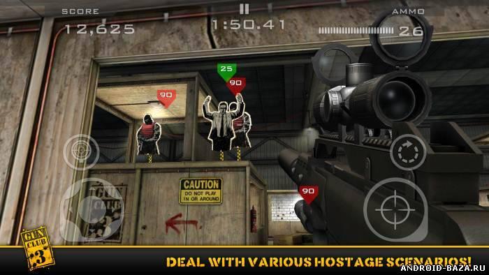 Скриншот Gun Club 3: Virtual Weapon Sim на планшет