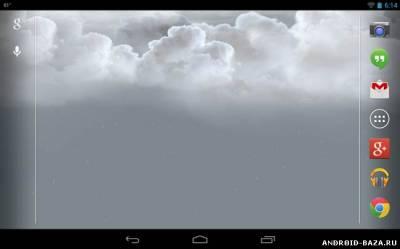 Stormfly - Живые обои с погодой на телефон
