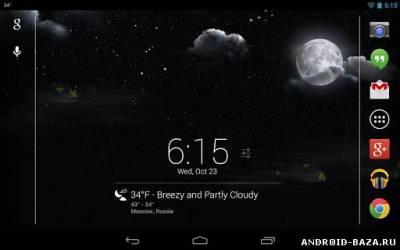 Stormfly - Живые обои с погодой на планшет
