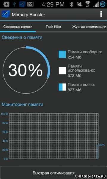 Memory Booster - Ускоритель памяти на телефон