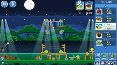 Изображение Angry Birds Friends на телефон