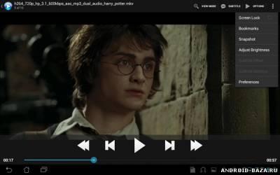 mVideo Player Pro на телефон