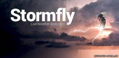 Stormfly - Живые обои с погодой андроид