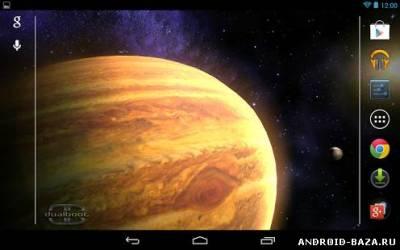 Space HD LWP на планшет
